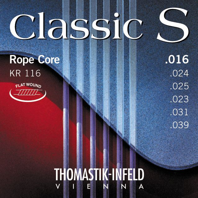 Thomastik-Infeld KR116 Classic S Series Flatwound Light Guitar Strings